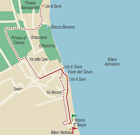 Milano Marittima Cartina Italia.52 Domeniche In Romagna Escursioni In Romagna Viaggiare In Romagna Scampagnate In Romagna Ecursioni In Bici Auto Macchina A Piedi In Motore In Moto